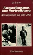 Anmerkungen zur Vertreibung (4th revised edition, 1995), Kohlhammer, Stuttgart, 240 pp. ISBN 3-17-009297-9 (of first edition)